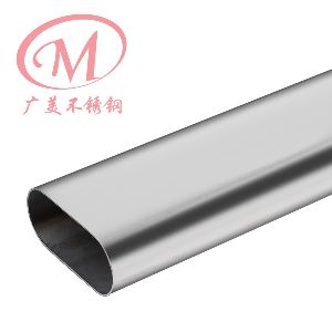 Stainless Steel Oval Tube 01