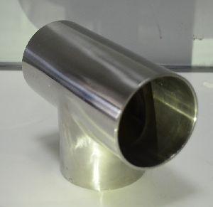 Stainless Steel Pipe Tee 06