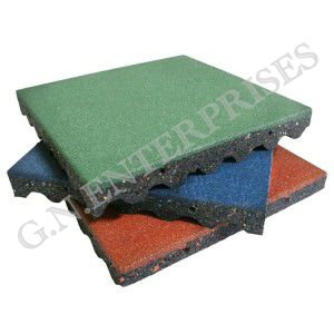 GBS-02 Rubber Floor Tile