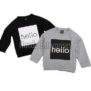 Boys Round Neck T-Shirt 02