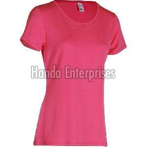 Ladies Round Neck T-Shirt 03