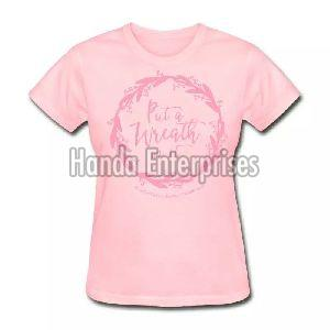 Ladies Round Neck T-Shirt 04