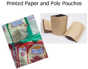 Printed Paper and Poly Pouches