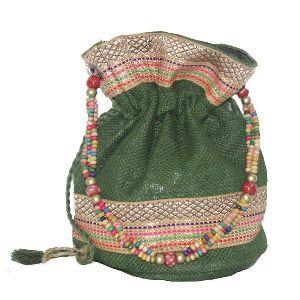 Green Batua Bags