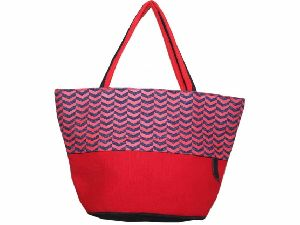 Black and Red Apple Bag