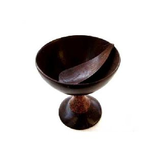 Coconut Shell Juice glass