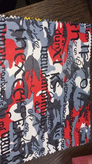 300 X 300 Printed Bag Fabric 08