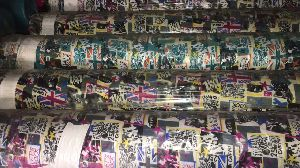 300 X 300 Printed Bag Fabric 10