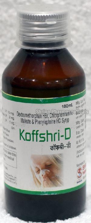 Koffshri-D Syrup