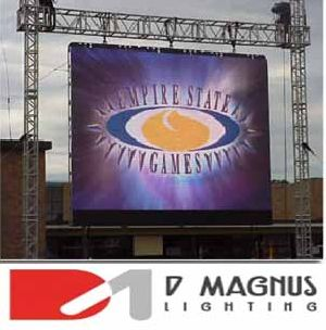 outdoor led screen on hire
