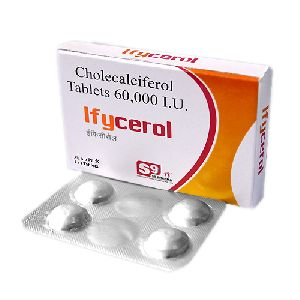 Cholecalciferol 60000 IU Chewable Tab.