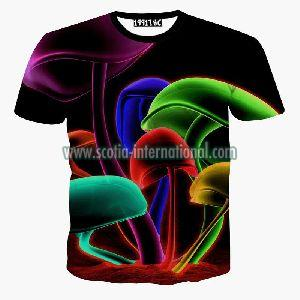 416 Mens Round Neck T - Shirt