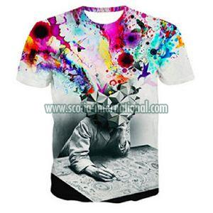 Mens Round Neck T - Shirts