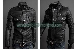 PU Leather Jacket 01