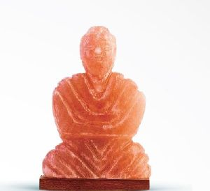 Himalayan Salt Figure Shaped Buddha Lamp
