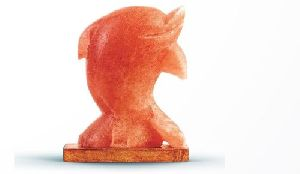 Himalayan Salt Figure Shaped Dolphin Lamp
