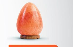 Himalayan Salt Geometrical Egg Shaped Lamp