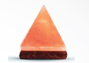 Himalayan Salt Geometrical Pyramid Shaped Lamp
