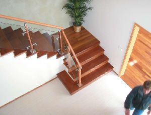 Wooden Railings 01