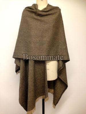 Mens Plain Woolen Wraps