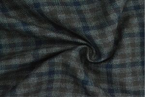 Rayon Check Fabric