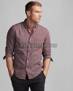 Mens Casual Check Shirt 01