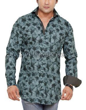 Mens Casual Check Shirt 04