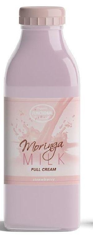 Strawberry Flavoured Moringa Milk