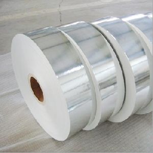 Silver Laminated White Paper Roll 01