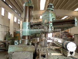 Csepel Floor Radial Drilling Machine 01