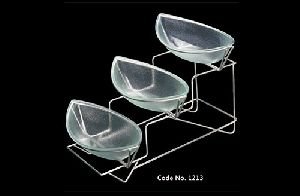 1213 Catering Display Bowl Set with Stand