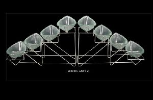 1209x2 Catering Display Bowl Set with Stand 02