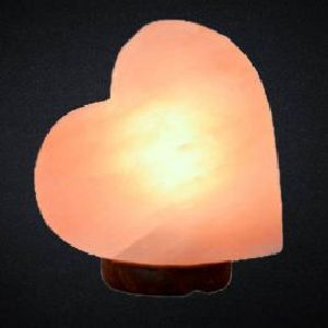 Big Heart Shaped Crafted Himalayan Salt Lamp