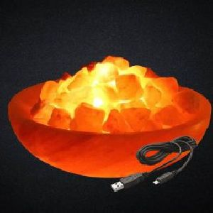Mini USB Fire Bowl Himalayan Salt Lamp