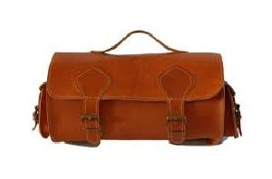 Barrel Leather Bags