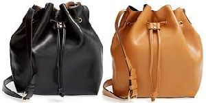Bucket Leather Bags