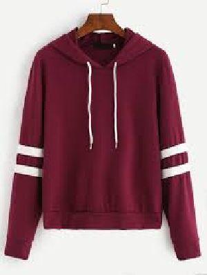 Ladies Hooded Sweatshirt