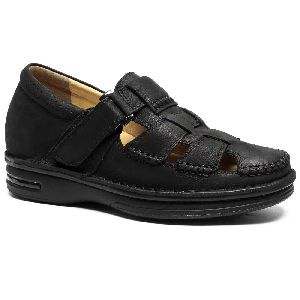 Mens Leather Sandals 01