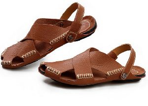 Mens Leather Sandals 05