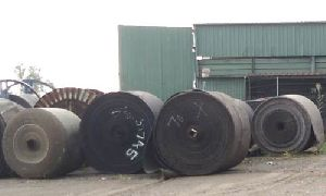 Used Solid Woven Conveyor Belts