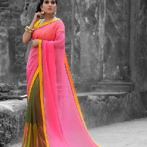 Festive Georgette Saree