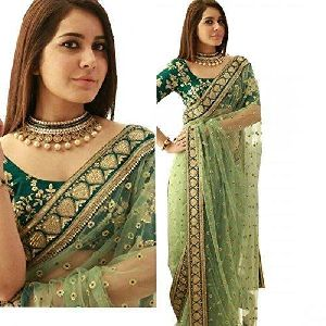 Fliponn Net Saree