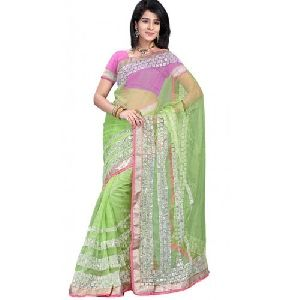 Pastel Net Saree