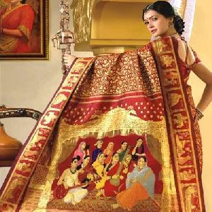 Stylish Kanchipuram Saree