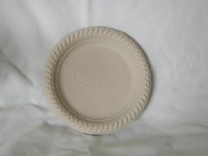 Biodegradable 6 Inch Round Plate