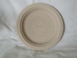 Biodegradable 7 Inch Round Plate