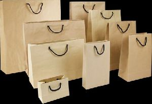 Brown Paper Shopping Bag 01