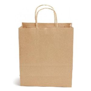 Brown Paper Shopping Bag 05