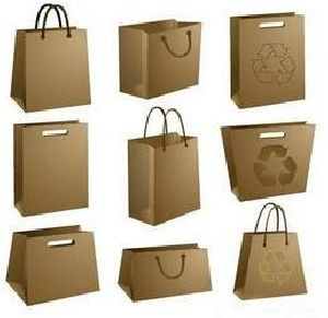 Brown Paper Shopping Bag 06