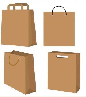 Brown Paper Shopping Bag 07